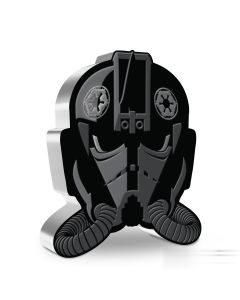 2021 1oz Niue Star Wars : Face of the Empire Series -Imperial TIE Fighter Pilot  .999 Silver Proof Coin
