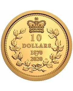 2020 7.8g Canada Dominion Of Canada .9999 Gold Proof Coin