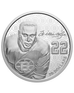 2020 1 oz Canada Black History Month: Willie O'Ree .9999 Silver Proof Coin