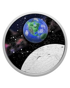 2020 1 oz Canada Mother Earth : Our Home .9999 Silver Proof Coin