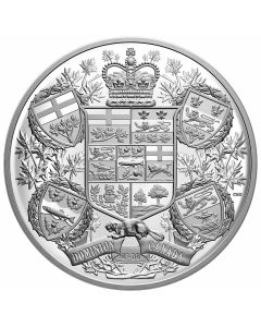 2020 1kg Canada Reimagined 1905 Arms of Dominion of Canada .9999 Silver Proof Coin
