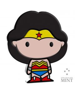 2020 1 oz Niue Chibi Coin Collection DC Comics Series - Wonder Woman .999 Silver Proof Coin