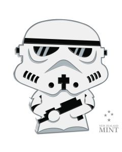 2020 1 oz Niue Chibi Coin Collection Star Wars Series - Stormtrooper .999 Silver Proof Coin