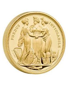 2020 5oz Great Britain The Great Engravers Collection - Three Graces .9999 Gold Proof Coin