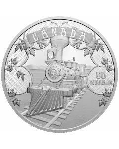 2021 5 oz Canada The first 100 Years of Confederation: An Emerging Country .9999 Silver Proof Coin