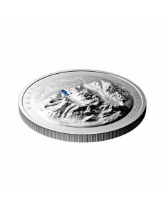 2021 82.3g Canada Lake Louise .9999 Silver Proof Extraordinarily High Relief Coin