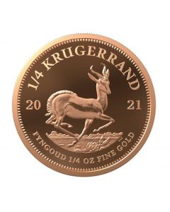 2021 1/4 oz South Africa Krugerrand .9167 Gold Proof Coin