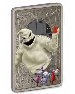 2021 1oz Niue Disney The Nightmare Before Christmas - Oogie Boogie .999 Silver Antique Coin