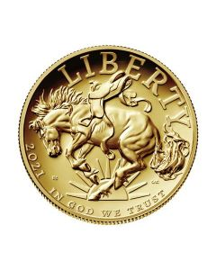 2021 1oz America Liberty .9999 Gold Proof Coin