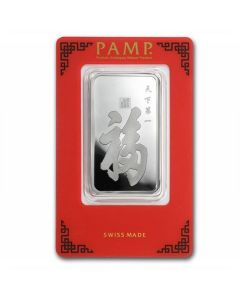 1 oz Pamp Suisse - True Happiness .999 Silver Bar (In Assay)