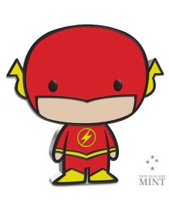 2020 1 oz Niue Chibi Coin Collection DC Comics Series - The Flash .999 Silver Proof Coin