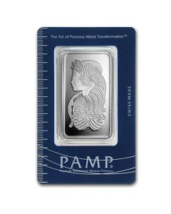 50 gram Pamp Suisse - Lady Fortuna .999 Silver Bar (Spotted)