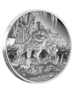 2015 1oz Niue Cerberus- Creatures of Greek Mythology .999 Silver Proof Coin