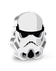 2021 1oz Niue Star Wars : Face of the Empire Series -Imperial Stormtrooper  .999 Silver Proof Coin
