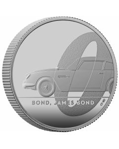 2020 1/2 oz Great Britain DB5 James Bond 007 .999 Silver Proof Coin