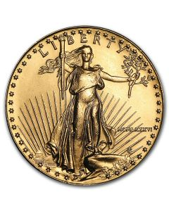 1986 1 oz America Eagle .9167 Gold Coin (MCMLXXXVI) - First year of issue!