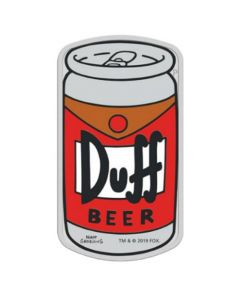 2019 1 oz Tuvalu The Simpsons- Duff Beer 9999 Silver Proof Coin