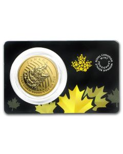 2016 1oz Canada Roaring Grizzly .99999 Gold Coin