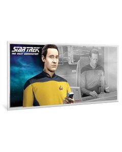 2019 5 gram Niue Star Trek: The Next Generation Characters Data 999 Silver Coin Note