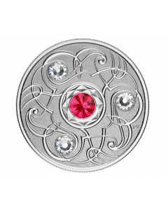 2020 1/4 oz Canada Birthstones: July .9999 Silver Reverse Proof Coin