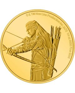 2021 1/4oz Niue Lord Of The Rings Classic Series -Legolas .9999 Gold Proof Coin