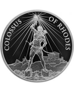 2020 1 oz 7 Wonders of the Ancient World - Colossus of Rhodes .999 Silver BU