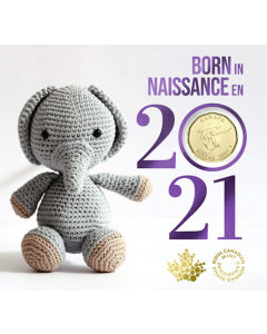 2021 Canada $1 Baby Coin Gift Set