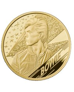 2020 2oz Great Britain Music Legends - David Bowie .999 Gold Proof Coin
