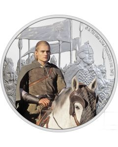 2021 1oz Niue Lord Of The Rings Classic Series - Legolas.999 Silver Proof Coin
