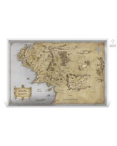 2021 35 gram Niue The Lord Of The Rings - Middle Earth .999 Premium Silver Foil