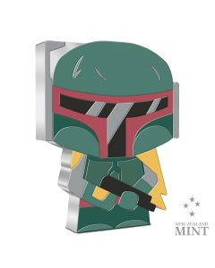 2020 1 oz Niue Chibi Coin Collection Star Wars Boba Fett .999 Silver Proof Coin
