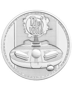 2021 1 oz Great Britain Music Legends - The Who .999 Silver BU Coin