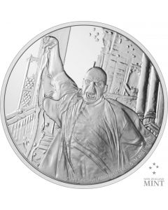 2021 1oz Niue Harry Potter - Lord Voldemort .999 Silver Proof Coin