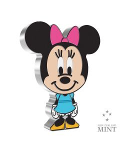 2021 1oz Niue Chibi Collection Disney Series -Minnie Mouse.999 Silver Proof Coin