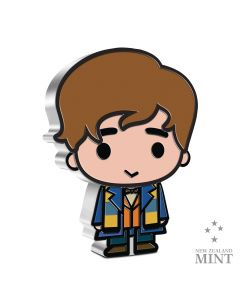 2021 1oz Niue Chibi Collection Fantastic Beasts Series -Newt Scamander .999 Silver Proof Coin