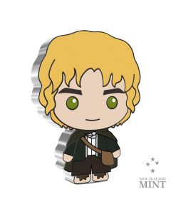 2021 1oz Niue Chibi Collection Lord Of The Rings Series - Samwise Gamgee .999 Silver Proof Coin