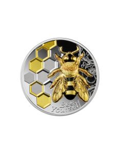 2021 1oz Cameroon Always Bee Yourself .999 Silver Proof Coin