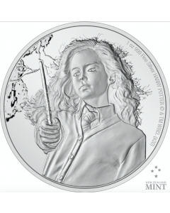 2021 1 oz Niue Harry Potter - Hermione Granger .999 Silver Proof Coin
