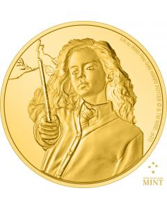 2021 1/4 oz Niue Harry Potter - Hermione Granger .9999 Gold Proof Coin
