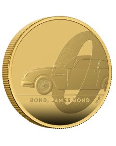 2020 1 oz Great Britain DB5 James Bond 007 .9999 Gold Proof Coin