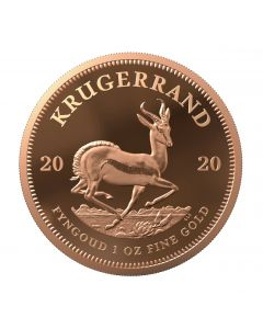2020 1oz South Africa Krugerrand .9167 Gold Proof Coin
