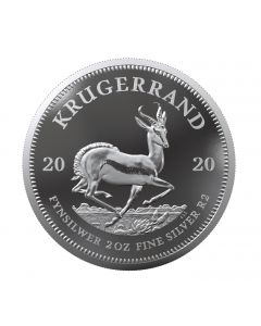 2020 2oz South Africa Krugerrand 999 Silver Proof Coin