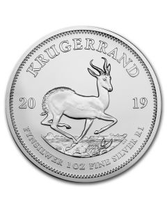 2019 1 oz South Africa Krugerrand .999 Silver Coin