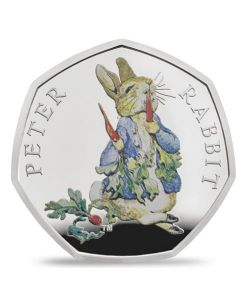 Peter Rabbit™ 2018 UK 50p Silver Proof Coin