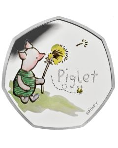 2020 8 gram Great Britain Winnie The Pooh- Piglet .925 Silver Proof Coin