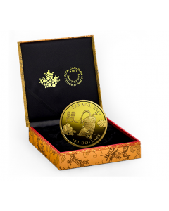 2020 11.84 gram Canada Year of the Rat .75 Gold Proof Coin