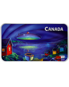 2020 1 oz Canada Unexplained Phenomena: The Clarenville Event .9999 Silver Proof Coin