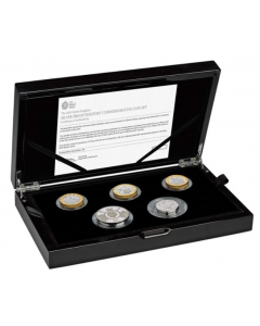 2020 Great Britain Silver Proof Piedfort Coin Set