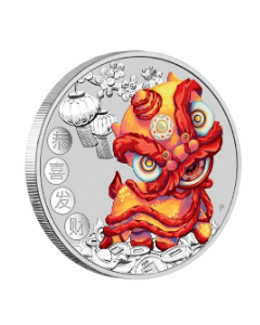 2020 1oz Tuvalu Chinese New Year .9999 Silver Coin