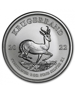 2022 1oz South Africa Krugerrand .999 Silver Coin